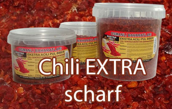 Osmanlı Baharatları Extra scharfe Chili Gewürz