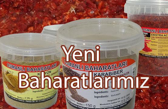 Osmanlı Baharatları Yeni